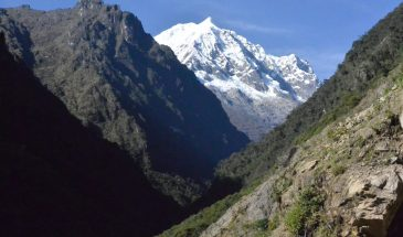 Salkantay above Ahobamba valley