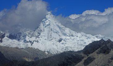 Mount Artesonraju, Cordillera Blanca, Huaraz, Peru