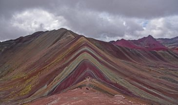Rainbow mountain Hike, Sky High Andes tours, Cusco, Peru